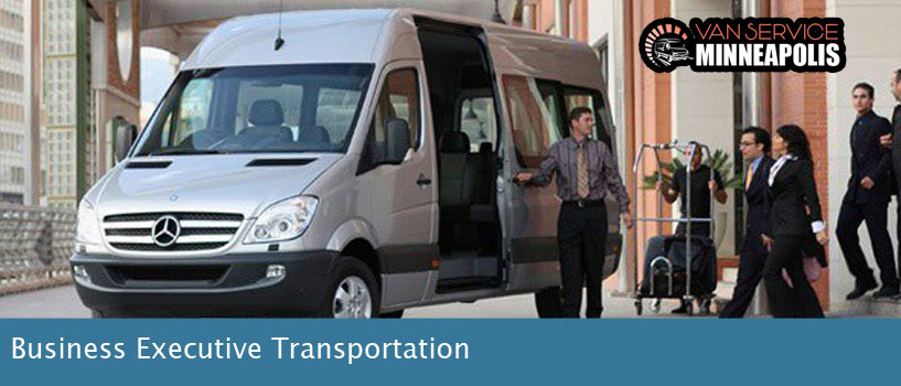 Group Transportation for Corporate Executives Minneapolis