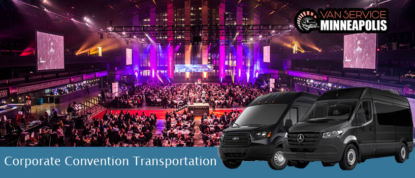 Corporate convention Transportation Minneapolis