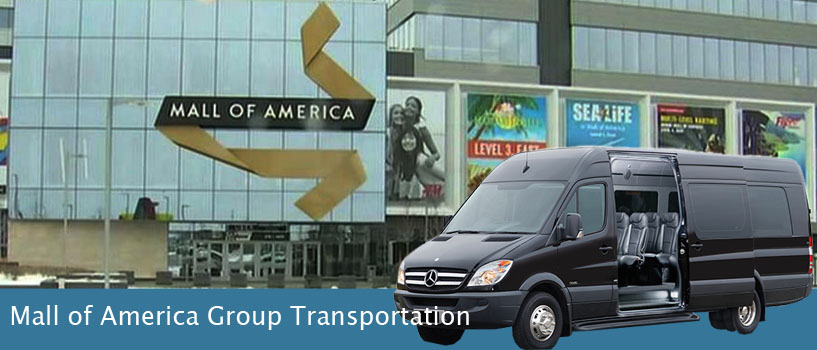 mall of america group transportation  Minneapolis, MN