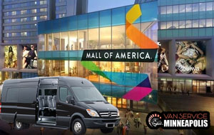 group transportation for mall of america