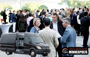group transportation for business meetings in Minneapolis, MN