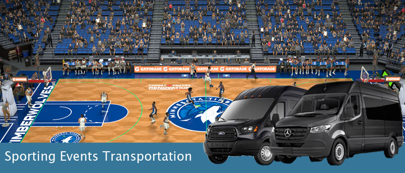 sporting event group Transportation minneapolis
